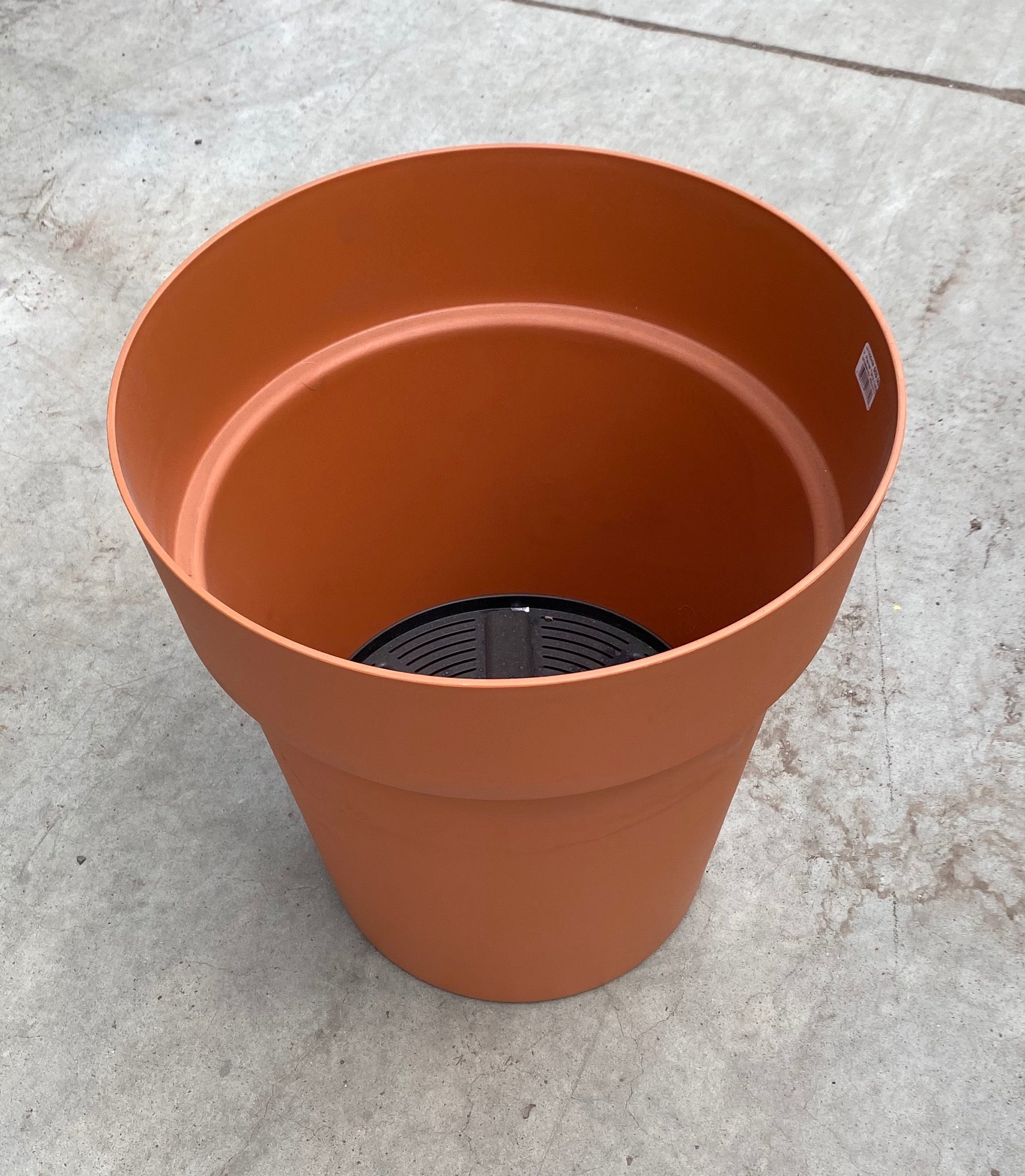 "Viva Planter w/reservoir 43cm/17"" Terracotta"