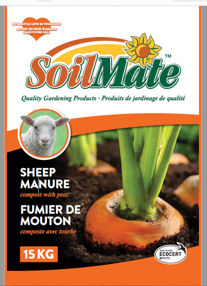 Soil Mate Sheep Compost 15KG