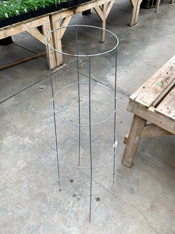 "Tomato Cage Inverted 48""  Galvanized"