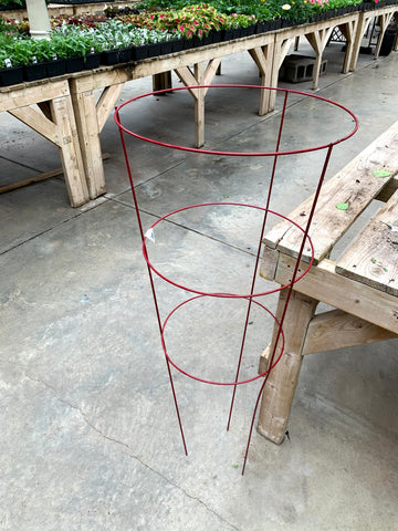 "Tomato Cage Brilliant Colors Red 16""x42"""