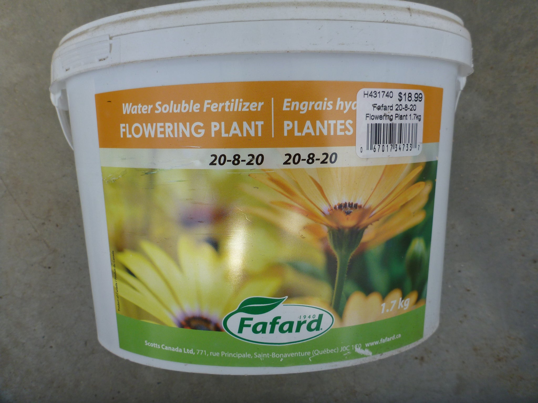 Fafard - Flowering Plant Fertilizer 1.7kg