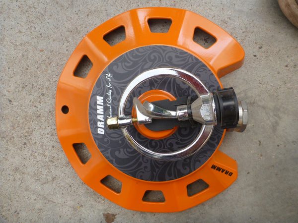 Dramm Spinning Sprinkler - Orange