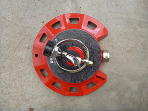 Dramm Spinning Sprinkler - Red