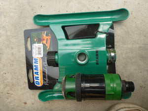 Dramm 4 Pattern Gear Sprinkler - Green