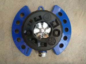 Dramm 9 Pattern Turret Sprinkler - Blue