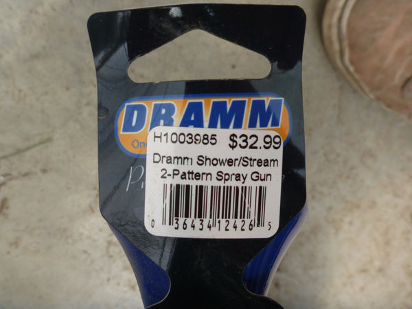 Dramm Shower/Stream Two Pattern Spray Gun - Blue