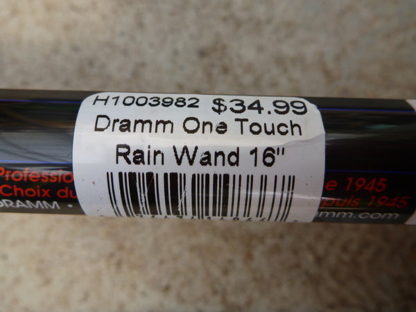 Dramm One Touch Rain Wand - Red
