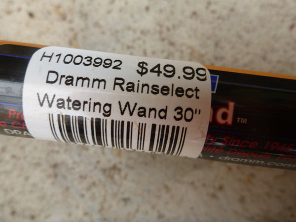 Dramm Rainselect Watering Wand - Orange