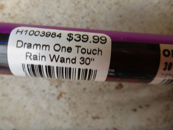 Dramm One Touch Rain Wand - Purple