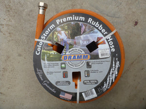 Dramm Colorstorm Premium Rubber Hose  - Orange