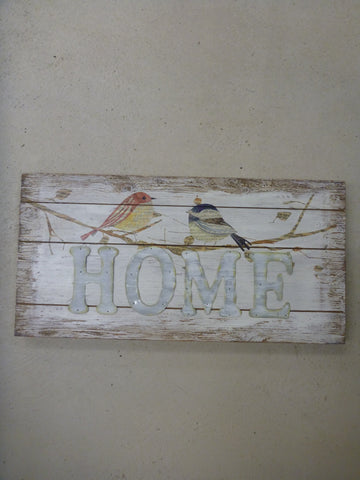 Wall Plaque 23'' - Home