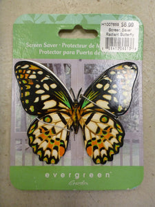 Screen Saver Radiant Butterfly - Green & Orange