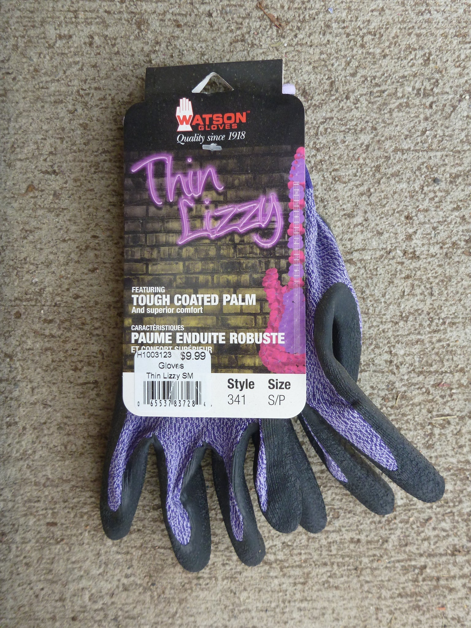 Gloves Thin Lizzy SM