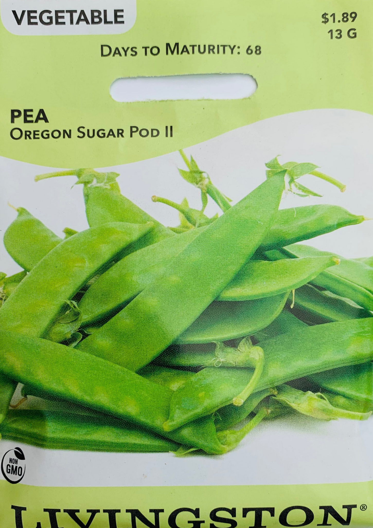 Livingston Seeds - Pea - Oregon Sugar Pod II