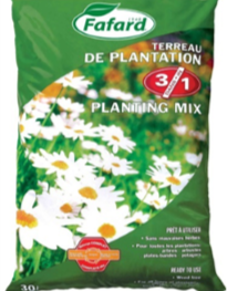Fafard Soil 3 In 1 Planting Mix 30 L