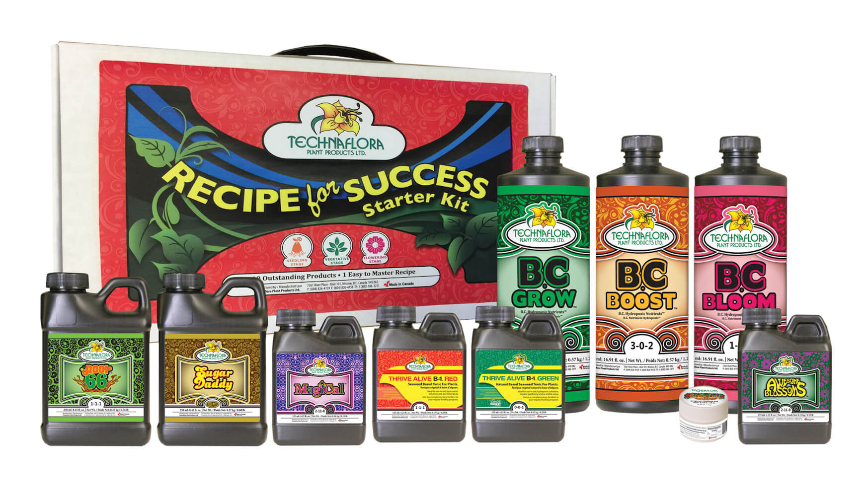 Technaflora Recipe For Success Kit