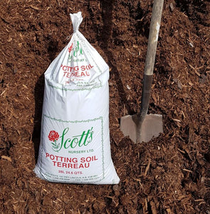 Natural Mulch Fir & Spruce 28L Bag (24 lbs/Bag) *BAG YOUR OWN* Pick-up only*