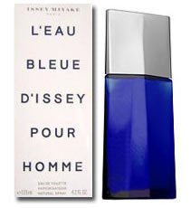 Issey Miyake Blue L'Eau Bleue D'Issey Pour Homme Frahrance For Men 75ml