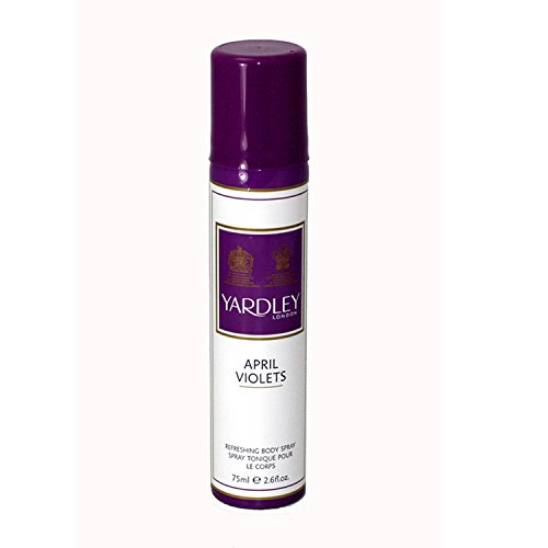 Yardley London April Violets Body Spray 75ml