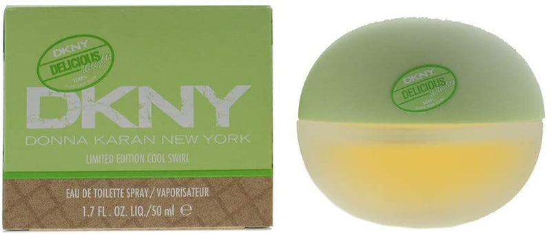 Dkny Be Delicious Cool Swirl limited Edition Eau De Toilette 50ml