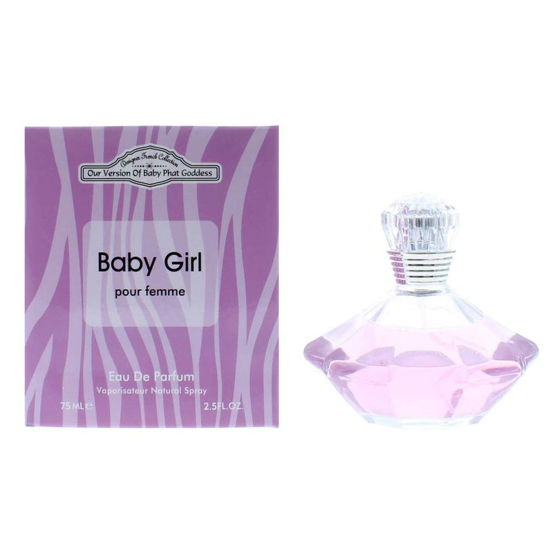 Designer French Collection Baby Girl Pour Femme Eau De Parfum 75ml