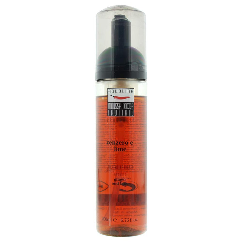 Aquolina Ginger And Lime Shower Mousse 200ml