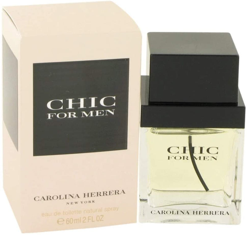 Carolina Herrera Chic For Men Eau De Toilette 60ml Spray