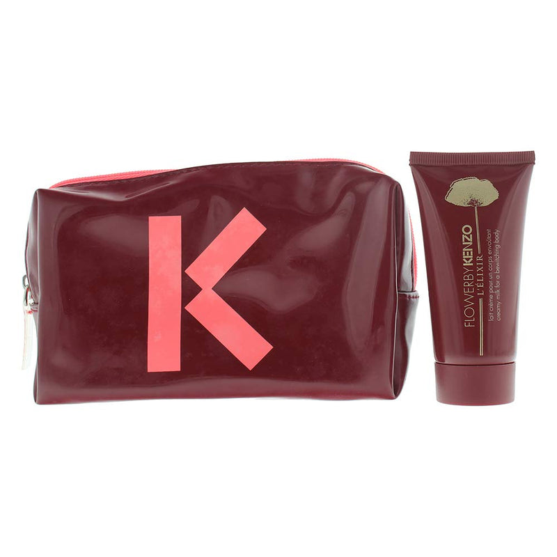 Kenzo Flower L Elixir Body Milk 50ml-Pouch