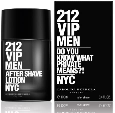 Carolina Herrera 212 VIP Men Aftershave Lotion - 100 ml