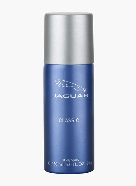 Jaguar Body Spray, Blue, 150 ml