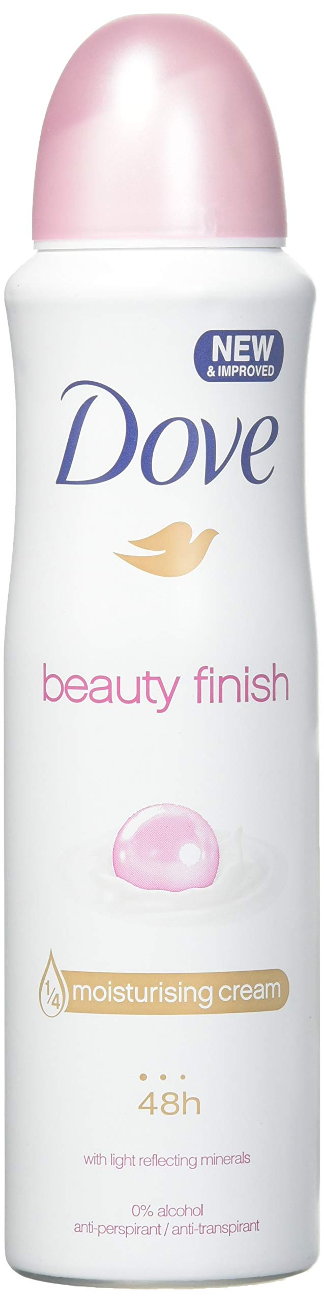 6 x Dove Beauty Finish Beauty Mineral Enriched Anti-Perspirant Deodorant 150ml