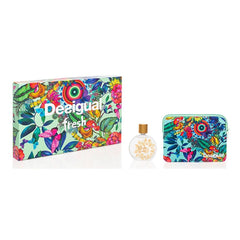 Desigual Fresh Eau de Toilette Spray with Donna Pouch 100 ml