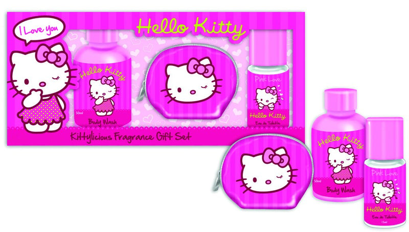 Hello Kitty Fragrance & Purse Gift Set