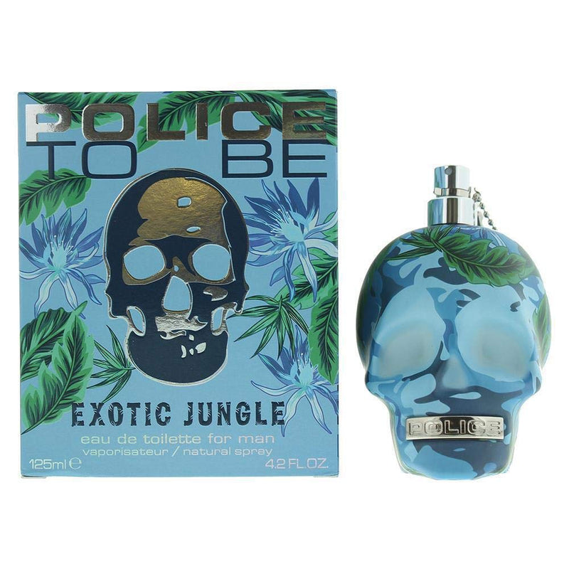 Police to be exotic jungle man eau de toilette spray 125ml
