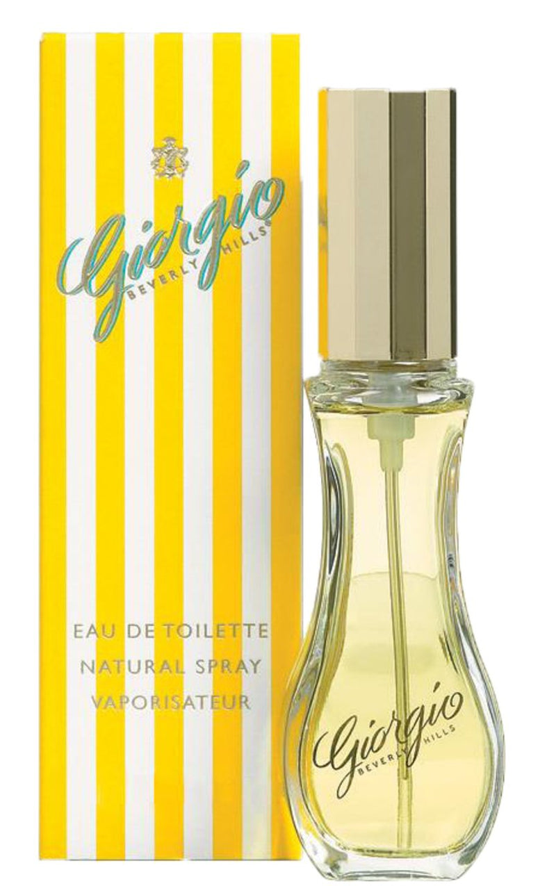 Giorgio Beverly Hills Yellow Ladies Eau De Toilette Fragrance Spray For Her 30ml