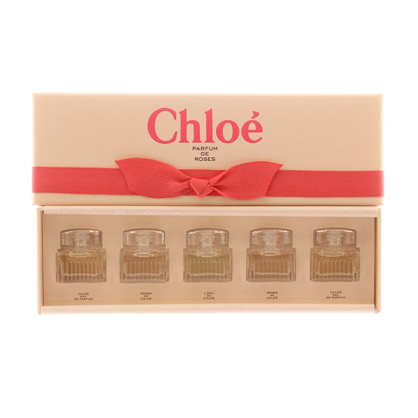 Chloe Mini Parfum De Roses Gift Set, 5 x 5 ml