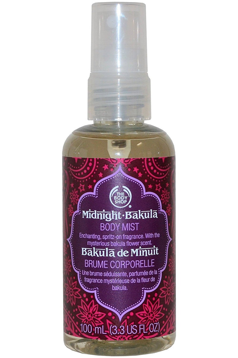 The Body Shop Midnight Bakula Body Mist, 100ml