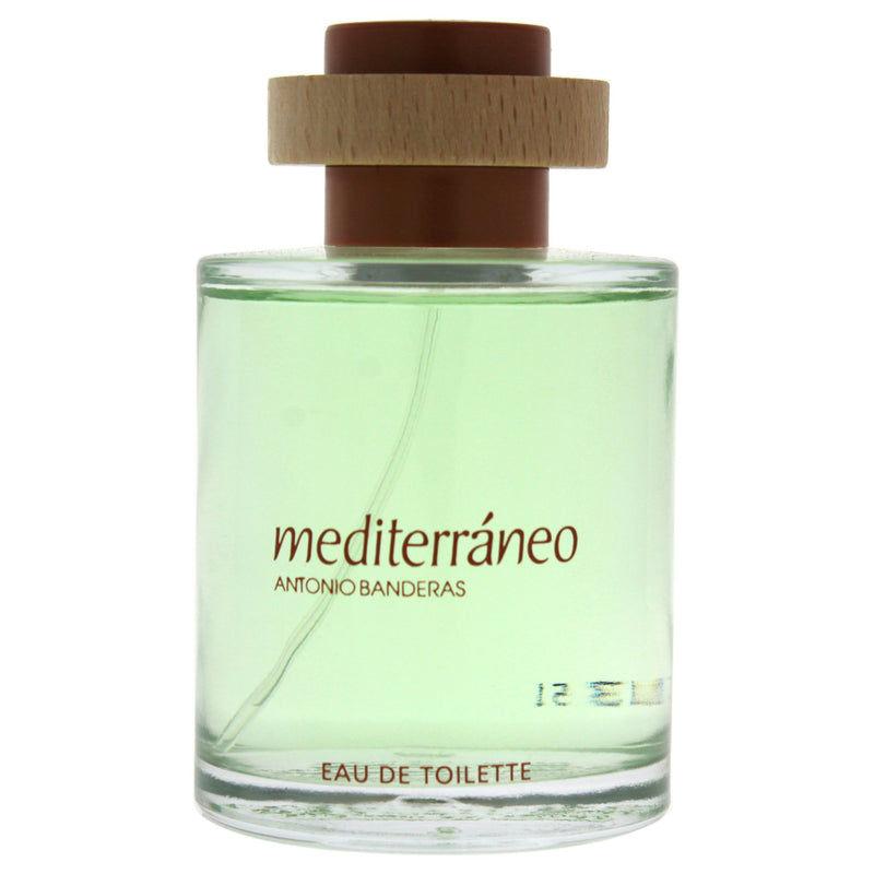 Mediteraneo By Antonio Banderas For Men Eau De Toilette Spray 3.4 Ounces