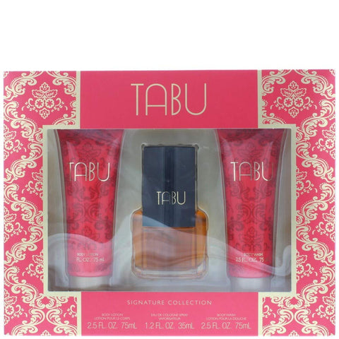 Dana Tabu Signature Collection Eau De Cologne 35ml Spray Gift Set For Her