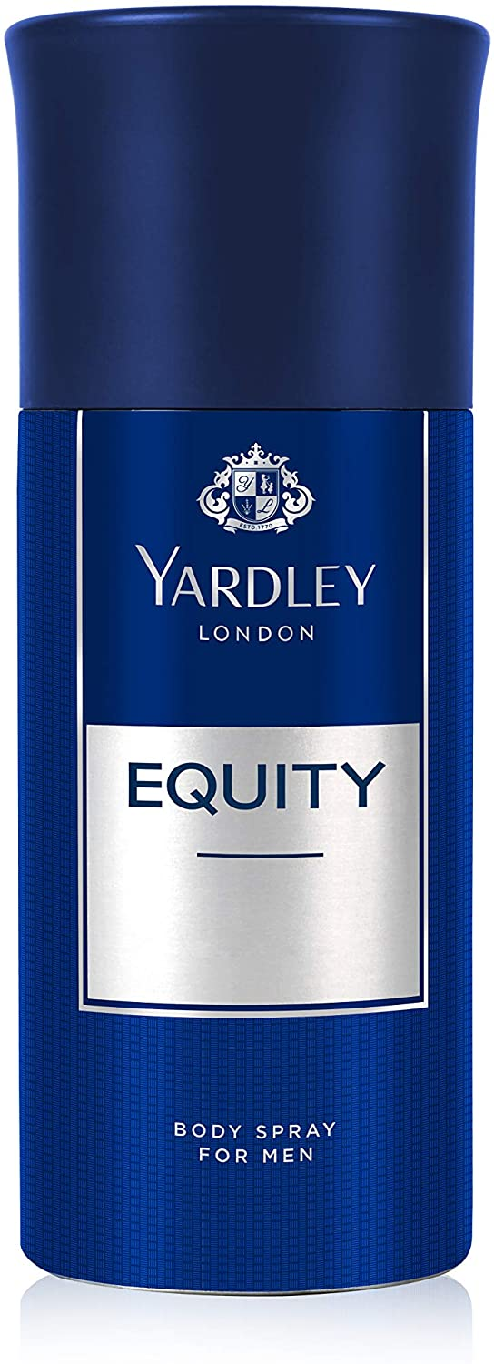Yardley Equity Body Spray 150ml