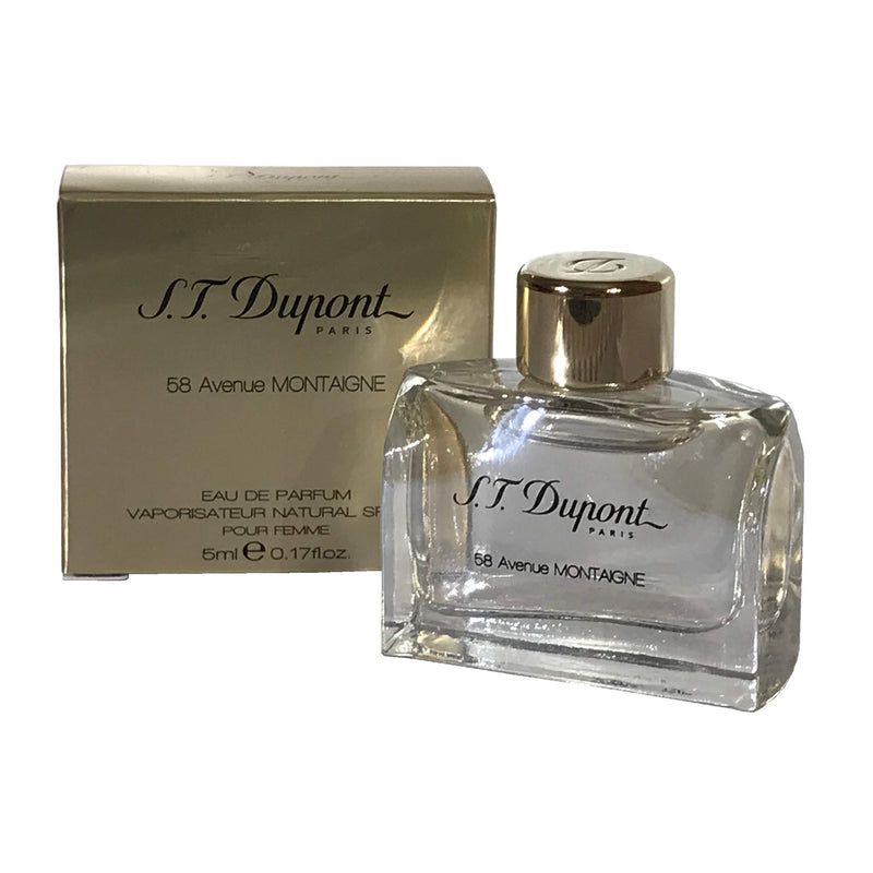 S.T. Dupont S.T Dupont 58 Avenue Montaigne Polyurethane Foam, for Femme Water Curtains 5 ml Diagonal Cutting for Pimlada Phuapradi/Bottle of