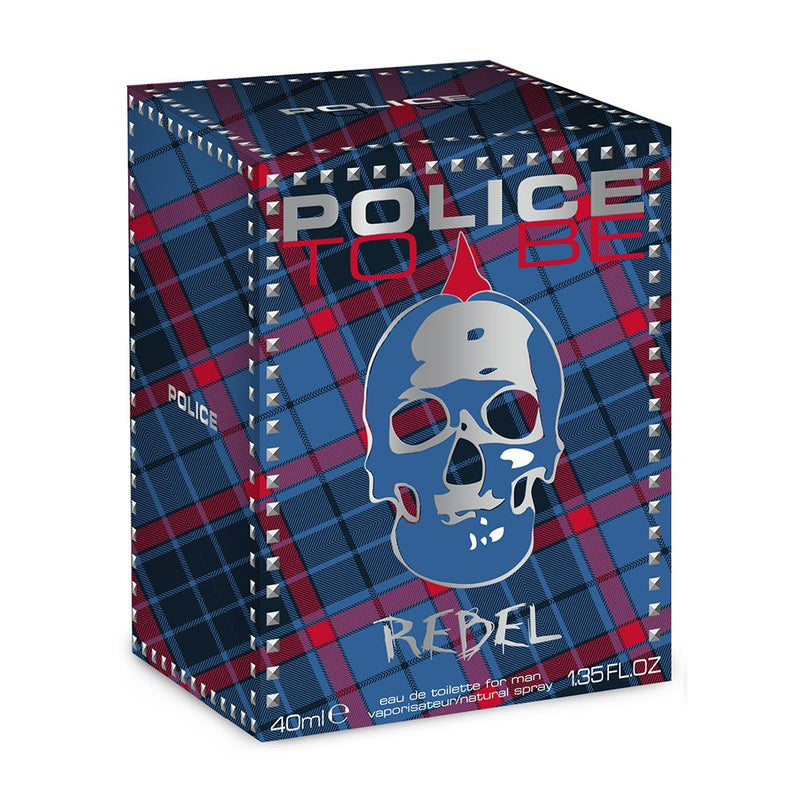 Police To Be Rebel Men EDT, 40 ml, 10016140