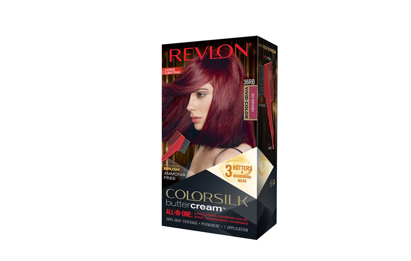Revlon Colorsilk buttercream™ All in one, Luxurious hair colour, Number: 36RB Red Burgundy