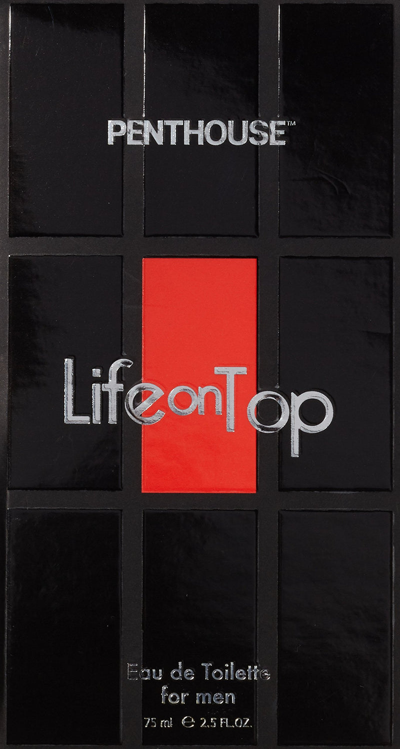 Life On Top Penthouse Eau de Toilette Spray for Him 75 ml