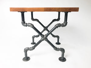 Milltown Industrial End Table