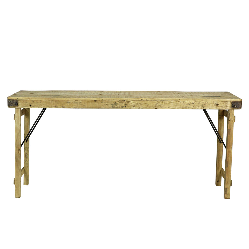 Bleached Wood Wedding Table