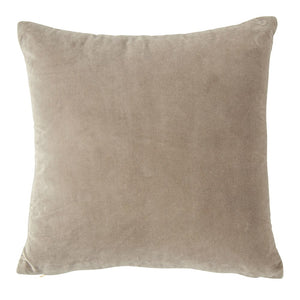 "20"" Grey Velvet Pillow"
