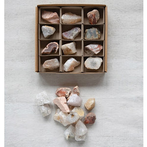 Box of Found Minerals