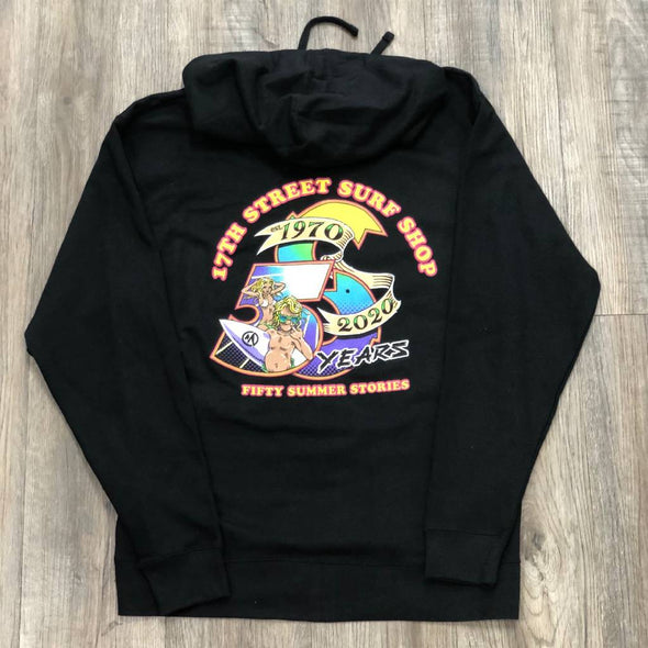 50 SUMMERS ZIP SWEATSHIRT