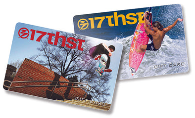 17th Street Surf Shop In-store Gift Card